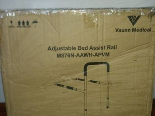 new in box Vaughn medical adjustable bed assist rail
