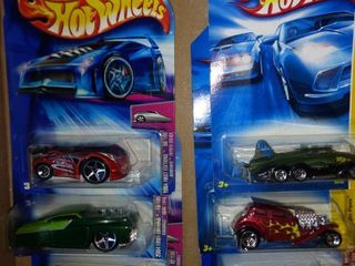 6 2004 to 2007 hot wheels