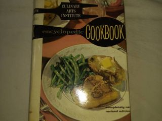 culinary arts institute encyclopediac cookbook
