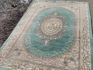 98 x 66 Chinese rug needs cleaned