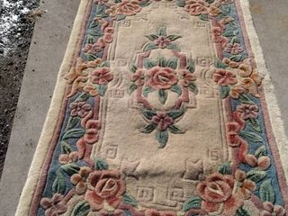 50 x 24 Chinese rug needs cleaned