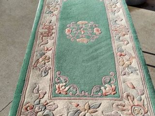 54 x 24 Chinese rug needs cleaned