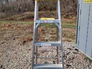 6 ft Warner step ladder