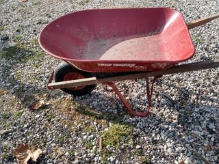 true temper wheelbarrow