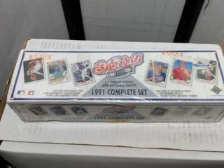 complete1991 upper Deck baseball set factory sealed