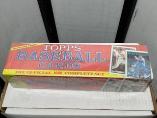 complete 1988 factory sealed tops baseball card set