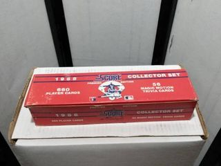 1988 score baseball card set open did not check out cards
