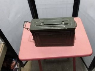 30 caliber metal ammunition box