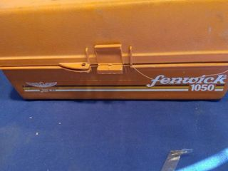 Fenwick tackle box and contents
