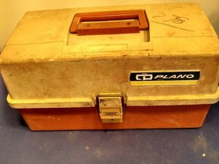 Plano tackle box and contents