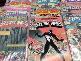 13 Secret Wars comics