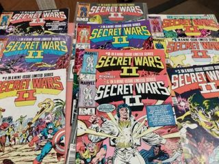 10 Secret Wars II comics