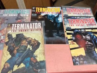 5 Terminator the enemy within comic books