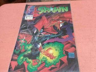 number 1 issue Spawn comic