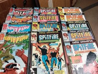13 marvel new universe spitfire comics