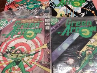 4 Green arrow comics 1 4