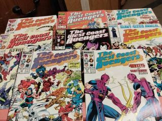 15 the West coast avengers comics