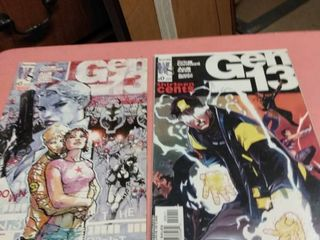 2 issue  0 Gen 13 comics