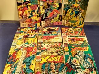 13 X Force comics