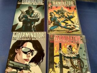 4 Terminator second objectives comics 1 4