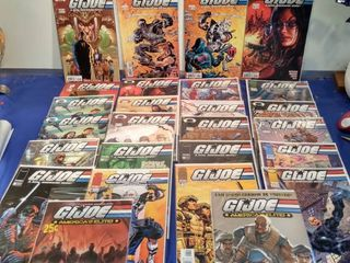 26 GI Joe comics