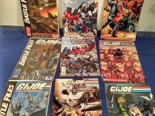 9 GI Joe comics