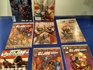 8 GI Joe comics
