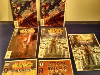 7 Star wars comics