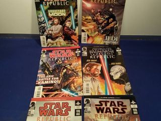 6 Star wars republic comics