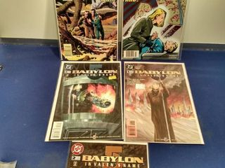 5 Babylon comics