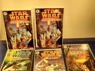 5 Star wars comics