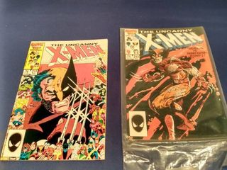 2 The uncanny X Men numbers 211 and 212