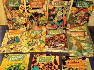 11 Justice league of America comics