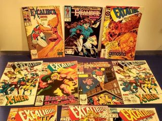 10 Excalibur comics