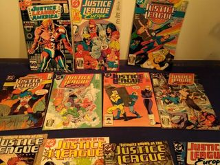 11 Justice league comics