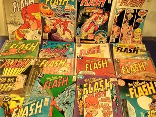 17 The flash comics