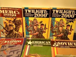 6 twilight 2000 role playing books