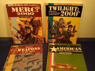 4 twilight 2000 role playing books