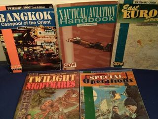 5 twilight 2000 game role playing books
