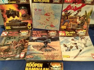 7 twilight 2000 game role playing books
