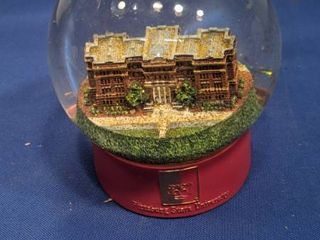 Pittsburg State University snow globe