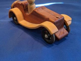wooden car front Fender s cracked