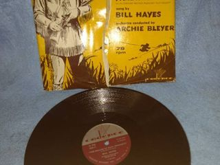 ballad of Davy Crockett 78 RPM record