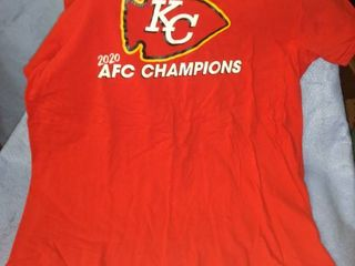 Kansas City 2020 AFC champion T shirt size large new