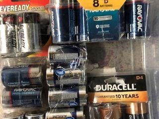 D Batteries   21 Pack