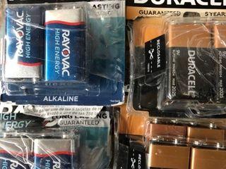 9V Batteries  16 Pack