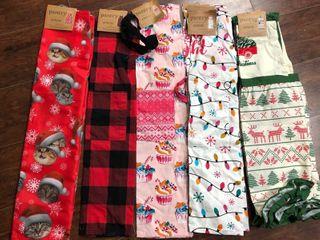 Christmas Pantry Apron Set   5 Pack