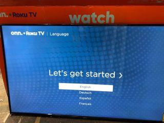 Onn 58  led 4K Smart Tv  2160p