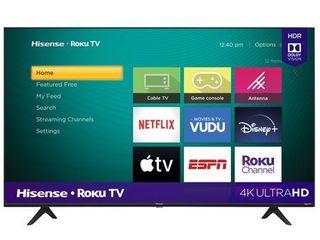 Hisense 58  Class 4K UHD lED Roku Smart TV HDR  58R6E3