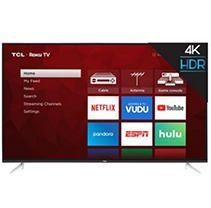 TCl 65  4K UHD HDR Smart Roku lED TV  65S423
